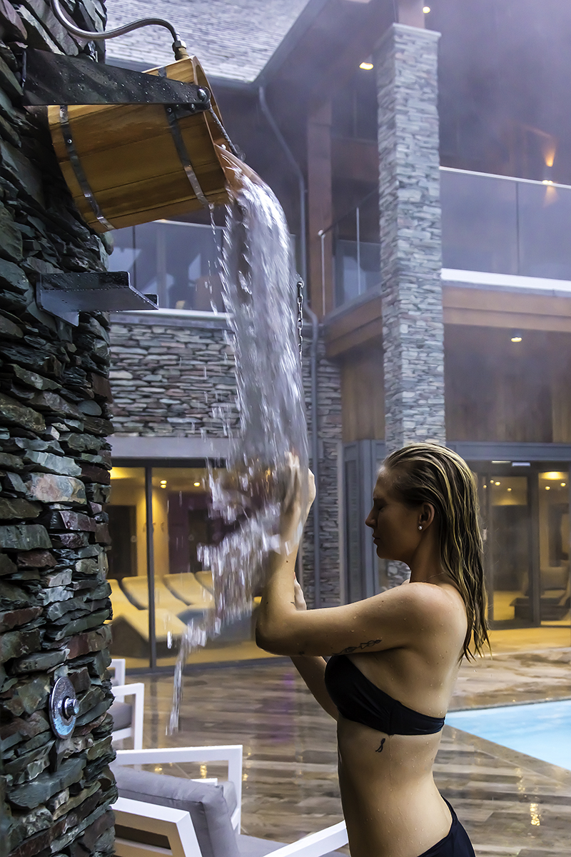 tour the falls spa