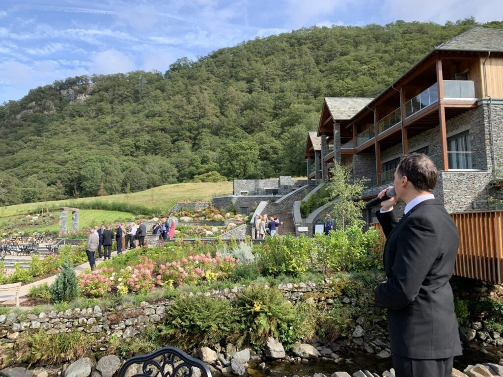 spa garden opening