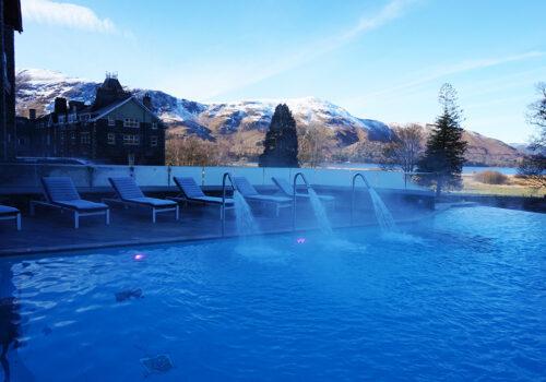 Winter spa day